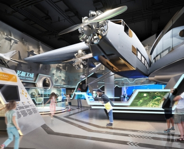 Flight Gallery, Shanghai Science & Technology Museum